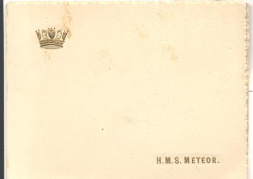 front of 1914 Christmas card
