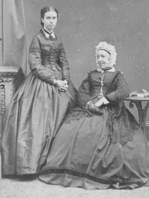 Florence Gray with her grandmother, Lady Pennefather (Margaret Carr Bartley)