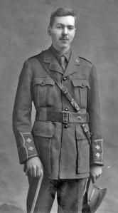 Lieutenant Gerald Hamilton Peters, spring 1916