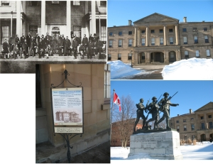 province house collage