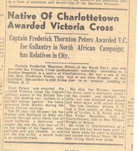 Charlottetown newspaper May 20 1943