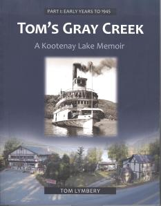 cover of Tom`s Gray Creek book 001