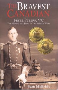 cover of second printing of The Bravest Canadian 001