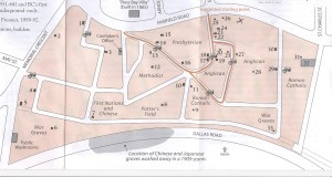 ross bay cemetery map 001