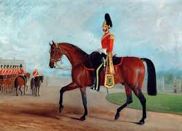 arthur bentick commanding dragoon guards