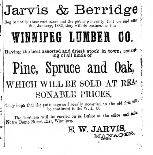 Manitoba_Free_Press_Wed__Jan_18__1882_jarvis lumber ad