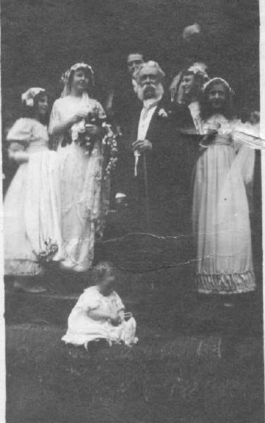6 Edgar Dewdney at wedding of Ted and Helen