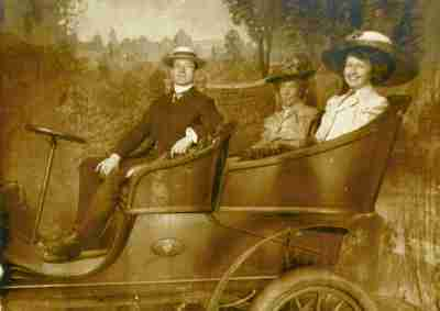 8 dewdney family in car staged