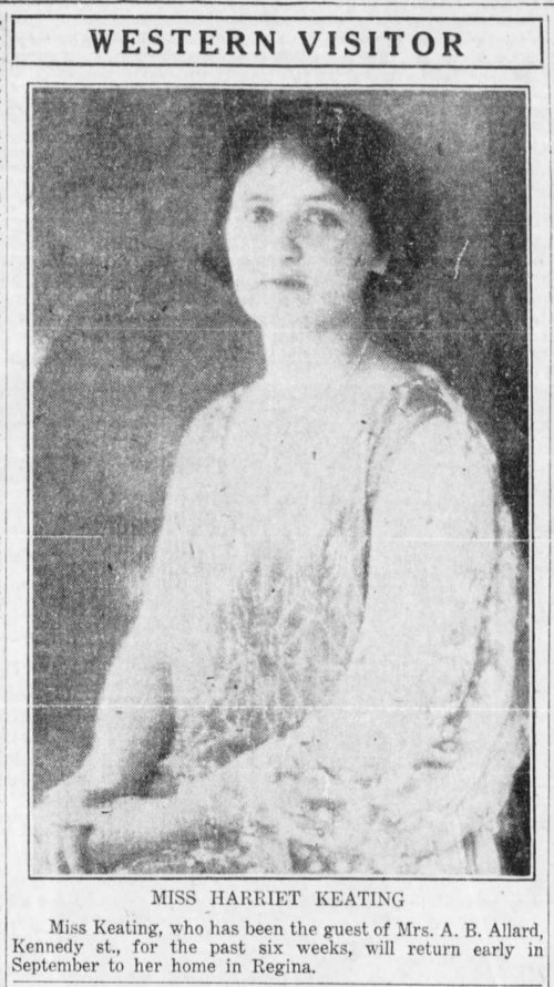 The_Winnipeg_Tribune_Sat__Aug_18__1928_pic of hattie in 1928