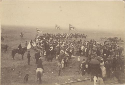 another scene of long lake ceremony