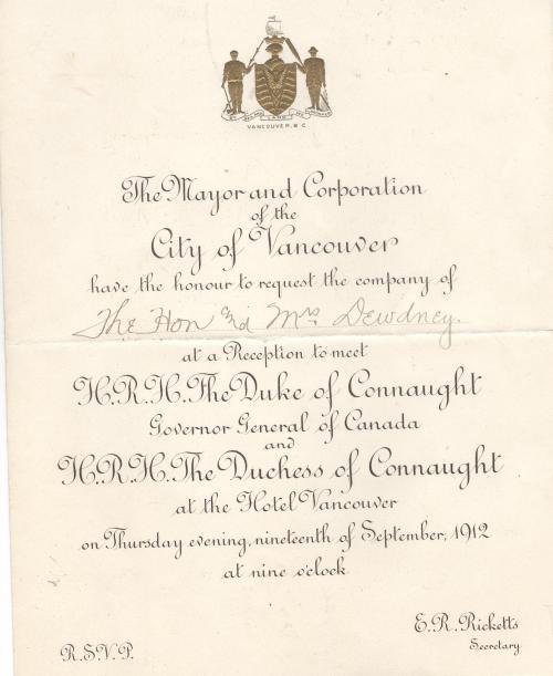 dewdney invite 1912 001