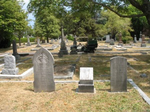 dewdney stones at Ross Bay Cemetery July 2008