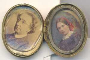 edgar's locket of john a macd and wife