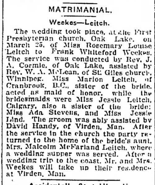 Manitoba_Morning_Free_Press_Tue__Apr_14__1914_bridesmaid