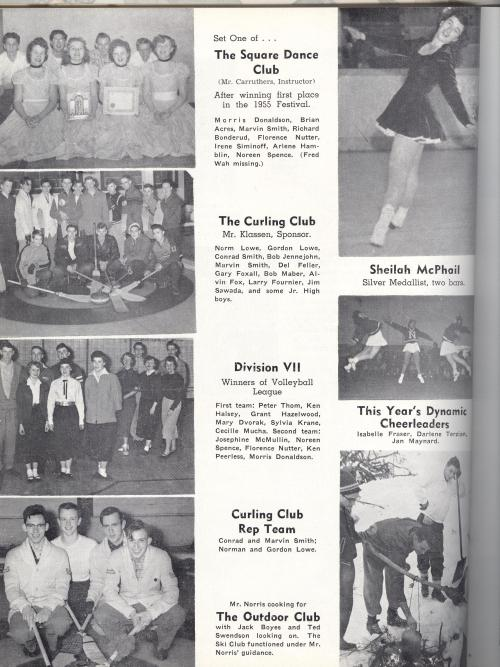 sheilah mcphail in 1956 yearbook skating 001