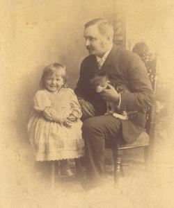 helen cat and father fred