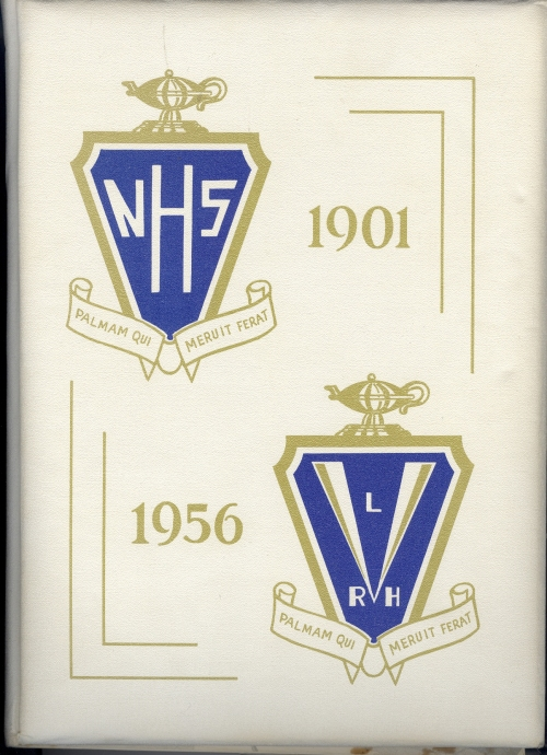 cover of 1956 Mountaineer yearbook